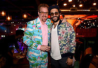 """LOS ANGELES, CA - APRIL 3: (L-R) Todd Robert Anderson and Desmin Borges attend the post-party at Two Bit Circus following the FYC Red Carpet event for the series finale of FX's """"You're the Worst"""" on April 3, 2019 in Los Angeles, California. (Photo by Frank Micelotta/FX/PictureGroup)"""