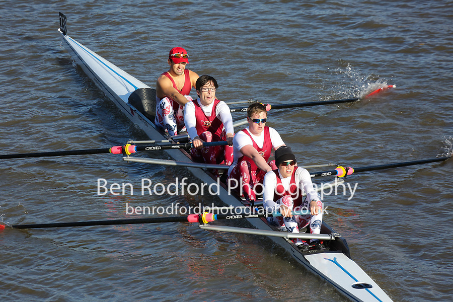 Crew: 239  MAR (Z)  Marlow RC (E Davis)  4- Chall<br /> <br /> Fours Head of the River 2018<br /> <br /> To purchase this photo, or to see pricing information for Prints and Downloads, click the blue 'Add to Cart' button at the top-right of the page.
