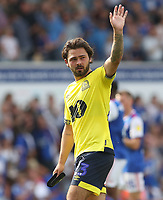 Blackburn Rovers' Bradley Dack applauds the crowd at the end of todays match<br /> <br /> <br /> Photographer Rachel Holborn/CameraSport<br /> <br /> The EFL Sky Bet Championship - Ipswich Town v Blackburn Rovers - Saturday 4th August 2018 - Portman Road - Ipswich<br /> <br /> World Copyright &copy; 2018 CameraSport. All rights reserved. 43 Linden Ave. Countesthorpe. Leicester. England. LE8 5PG - Tel: +44 (0) 116 277 4147 - admin@camerasport.com - www.camerasport.com