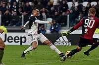 Cristiano Ronaldo of Juventus scores a goal <br /> Torino 6-1-2020 Juventus Stadium <br /> Football Serie A 2019/2020 <br /> Juventus FC - Cagliari Calcio <br /> Photo Giuliano Marchisciano / Insidefoto