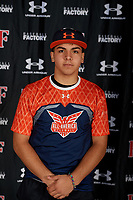 Daniel Barbero during the Under Armour All-America Tournament powered by Baseball Factory on January 17, 2020 at Sloan Park in Mesa, Arizona.  (Mike Janes/Four Seam Images)
