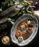 Gastronomie générale/Saumon: Saumon aux cinq parfums