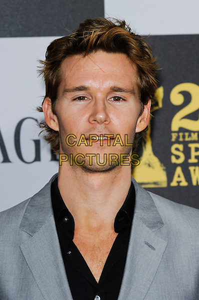 RYAN KWANTEN.The 25th Annual Film Independent Spirit Awards at the LA Live Event Deck in Los Angeles, California, USA..March 5th, 2010  .headshot portrait grey gray black stubble facial hair .CAP/ROT.©Lee Roth/Capital Pictures