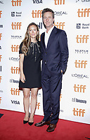 """TORONTO, ONTARIO - SEPTEMBER 10: Shauna Robertson, Edward Norton attend the """"Motherless Brooklyn"""" premiere during the 2019 Toronto International Film Festival at Princess of Wales Theatre on September 10, 2019 in Toronto, Canada. Photo: PICJER/imageSPACE/MediaPunch"""