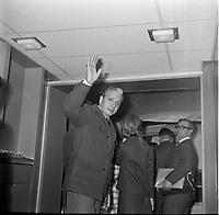 L'animateur de radio Lucien ''Frenchie '' Jarraud se presente comme candidat du Parti progressiste-conservateur du Canada dans la circonscription de Saint-Henri lors de l'election federale canadienne du  8 juillet 974. Il est defait par le libéral Gérard Loiselle.<br /> <br /> Photo : Agence Quebec Presse - Roland Lachance