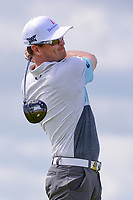 Zach Johnson (USA) watches his tee shot on 7 during Saturday's round 3 of the 117th U.S. Open, at Erin Hills, Erin, Wisconsin. 6/17/2017.<br /> Picture: Golffile | Ken Murray<br /> <br /> <br /> All photo usage must carry mandatory copyright credit (&copy; Golffile | Ken Murray)