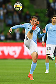 3rd November 2017, Melbourne Rectangular Stadium, Melbourne, Australia; A-League football, Melbourne City FC versus Sydney FC; Neil Kilkenny of Melbourne City FC kicks the ball