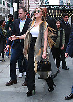 APR 09 Jennifer Lopez Seen In NYC