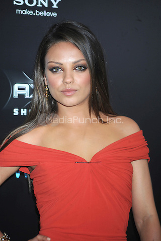 "MIla Kunis at the New york Premiere of ""Friends With Benefits"" held at the Ziegfeld Theater on July 18, 2011. Credit: Dennis Van Tine/MediaPunch"