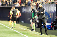 Juan Ramón Muñiz (coach; Málaga CF) during the Spanish football of La Liga 123, match between CA Osasuna and Málaga CF at the Sadar stadium, in Pamplona (Navarra), Spain, on Saturday, November 3, 2018.