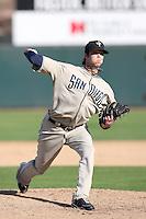 Evan Scribner - Peoria Saguaros, 2009 Arizona Fall League.Photo by:  Bill Mitchell/Four Seam Images..