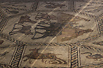 Israel, a mosaic floor from the Roman period in Lod