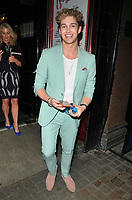 AJ Pritchard at the &quot;Kinky Boots&quot; gala performance departures, Adelphi Theatre, The Strand, London, England, UK, on Tuesday 29 May 2018.<br /> CAP/CAN<br /> &copy;CAN/Capital Pictures