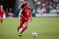 Carson, CA - Thursday August 03, 2017: Casey Short during a 2017 Tournament of Nations match between the women's national teams of the United States (USA) and Japan (JPN) at the StubHub Center.