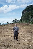 Dr. A Muniandy of Department of Veterinary Farms, Malaysian Government poses for a portrait in the abandoned pig farms where millions of pigs were buried after the outbreak in Ipoh, Perak, Malaysia on October 15th, 2016. <br /> In September 1998, a virus among pig farmers (associated with a high mortality rate) was first reported in the state of Perak in Malaysia. Dr. Chua investigated and discovered the virus and it was later named, Nipah Virus. The outbreak in Malaysia was controlled through the culling of &gt;1 million pigs.
