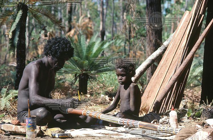 © Penny Tweedie / Panos Pictures..Arnhemland, AUSTRALIA..