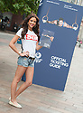 Miss Scotland 2013, Jamey Bowers, helps launch the Official Ticketing Guide for the Glasgow 2014 Commonwealth games as the 1 year countdown begins.