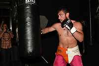 Dave Allen during a Media Workout at 12x3 Gym on 10th July 2019