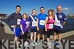 from left Padraig Corkery, Ann Shanahan, Catherine Costello, Terry Healy, Fiona Griffin and Pat Sullivan pictured at the Rose of Tralee International 10k Race in Tralee on Sunday.