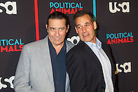 Ciaran Hinds and Adrian Pasdar at the screening of USA Network's 'Political Animals' at the Morgan Library & Museum in New York City. June 25, 2012. © Ronald Smits/MediaPunch Inc. *NORTEPHOTO* **SOLO*VENTA*EN*MEXICO** **CREDITO*OBLIGATORIO** **No*Venta*A*Terceros** **No*Sale*So*third** *** No*Se*Permite Hacer Archivo** **No*Sale*So*third** *Para*más*información:*email*NortePhoto@gmail.com*web*NortePhoto.com*