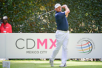 Lee Westwood (GBR) watches his tee shot on 5 during round 4 of the World Golf Championships, Mexico, Club De Golf Chapultepec, Mexico City, Mexico. 3/5/2017.<br /> Picture: Golffile | Ken Murray<br /> <br /> <br /> All photo usage must carry mandatory copyright credit (&copy; Golffile | Ken Murray)