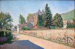 Chateau de Comblat, c.1887<br /> Paul Signac (1863&ndash;1935) <br /> oil on canvas