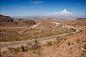 Arizona-Route 66<br /> Col de Sitgreaves  (1100m&egrave;tres)<br /> Sur la route de Oatman