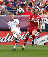 Jay DeMerit, Tuncay Sunli. The USMNT defeated Turkey, 2-1, at Lincoln Financial Field in Philadelphia, PA.