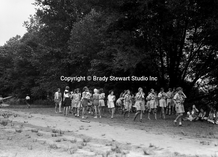 East McKeesport PA:  Girl Scouts taking a break while on a hike - Camp Youghahela 1925