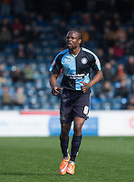 Marcus Bean of Wycombe Wanderers during the Sky Bet League 2 match between Wycombe Wanderers and Barnet at Adams Park, High Wycombe, England on 16 April 2016. Photo by Andy Rowland.