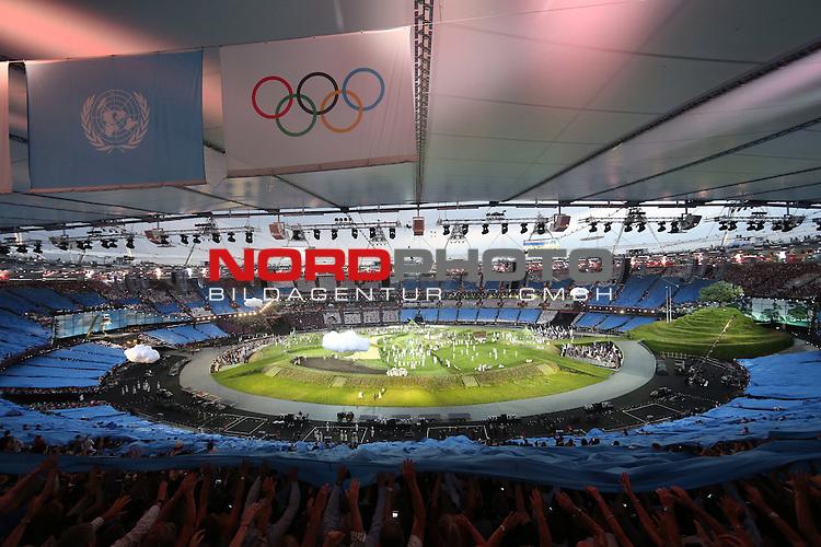 27.07.2012., England, London - Opening ceremony of Summer Olympic Games London 2012.<br /> <br /> Foto &copy;  nph / PIXSELL / Igor Kralj