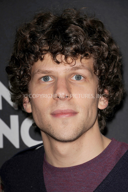 WWW.ACEPIXS.COM . . . . . .November 14, 2011, New York City.....Jessie Eisenberg attends the 10th Anniversary Montblanc '24 Hour Plays On Broadway' after party at B.B. King Blues Club & Grill on November 14, 2011 in New York City. . ..Please byline: KRISTIN CALLAHAN - ACEPIXS.COM.. . . . . . ..Ace Pictures, Inc: ..tel: (212) 243 8787 or (646) 769 0430..e-mail: info@acepixs.com..web: http://www.acepixs.com .