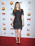 Bella Heathcote at The G'Day USA Black Tie Gala held at The JW Marriot at LA Live in Los Angeles, California on January 12,2013                                                                   Copyright 2013 Hollywood Press Agency