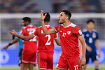 Ali Al Busaidi of Oman reacts during the AFC Asian Cup UAE 2019 Group F match between Oman (OMA) and Japan (JPN) at Zayed Sports City Stadium on 13 January 2019 in Abu Dhabi, United Arab Emirates. Photo by Marcio Rodrigo Machado / Power Sport Images