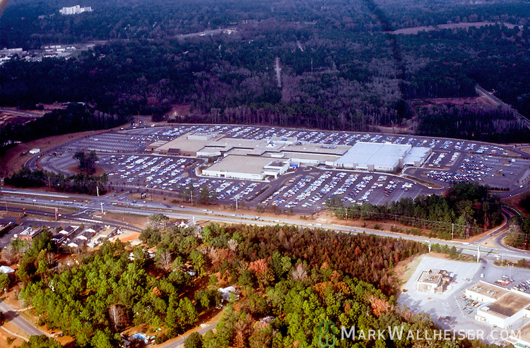 1981 Historical aerial photographs of Governors Square Mall in Tallahassee, Florida December 23, 1981.
