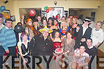 BIRTHDAY: Tanya O'Sullivan (seated centre) with her parents Ger and Mary O'Sullivan, Tursillagh, Kielduff, Tralee, and many of her friends as she celebrated her 18th Birthday at Harty's Bar & Restaurant, Tralee, on Saturday night..