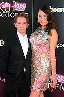 Seth Green And Clare Grant at the premiere of Paramount Insurge's 'Katy Perry: Part Of Me' at Grauman's Chinese Theatre on June 26, 2012 in Hollywood, California. &copy;&nbsp;mpi35/MediaPunch Inc. /*NORTEPHOTO*<br />