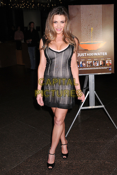 "CERINA VINCENT.""Just Add Water"" Los Angeles Premiere at the Director's Guild Theatre, West Hollywood, California, USA..March 18th, 2008.full length black sheer dress.CAP/ADM/BP.©Byron Purvis/AdMedia/Capital Pictures."