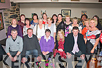 RETIREMENT: Nellie O'Connor, Kielduff, Tralee (seated centre) celebrated her retirement from the HSE after 17 yrs last Saturday night in Kirby's Brogue, Tralee with many friends, family and colleagues.
