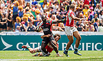 Kenya vs Portugal during the HSBC Sevens Wold Series Shield Semi Finals match as part of the Cathay Pacific / HSBC Hong Kong Sevens at the Hong Kong Stadium on 29 March 2015 in Hong Kong, China. Photo by Manuel Bruque / Power Sport Images