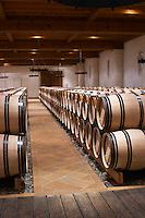 barrel aging cellar chateau haut brion pessac leognan graves bordeaux france