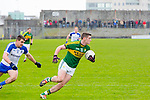 Kerry's Paul Geaney get away from Monaghan's Drew Wylie in the Allianz Football League Kerry V Monaghan at Austin Stack Park on Sunday