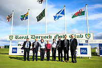 R and A Officials during previews for the Boys' Home Internationals played at Royal Dornoch, Dornoch, Sutherland, Scotland. 06/08/2018<br /> Picture: Golffile | Phil Inglis<br /> <br /> All photo usage must carry mandatory copyright credit (&copy; Golffile | Phil Inglis)