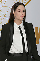 LOS ANGELES - SEP 21:  Emily Hampshire at the Showtime Emmy Eve Party at the San Vicente Bungalows on September 21, 2019 in West Hollywood, CA