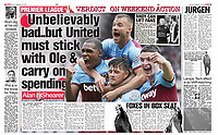 The Sun - 23-Sep-2019 - 'Unbelievably bad..but United must stick with Ole & carry on spending' - Photo by Rob Newell (Camerasport via Getty Images)