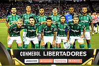 BARRANQUIILLA - COLOMBIA, 01-03-2018: Atlético Junior de Colombia y Palmeiras de Brasil en partido por la fecha 1, grupo H, de la Copa CONMEBOL Libertadores 2018  jugado en el estadio Metropolitano Roberto Meléndez de la ciudad de Barranquilla. / Atlético Junior of Colombia and Palmeiras of Brazil in match for the date 1, group H, of the Copa CONMEBOL Libertadores 2018 played at Metropolitano Roberto Melendez stadium in Barranquilla city.  Photo: VizzorImage/ Alfonso Cervantes / Cont
