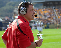 Rutgers head coach Greg Schiano. The Pittsburgh Panthers defeated the Rutgers Scarlet Knights 41-21 on October 23, 2010 at Heinz Field, Pittsburgh, Pennsylvania....