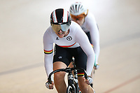 Lyn Peterken and Claire Sherrington of Waikato BOP compete in the Masters Women 500m Team Pursuit at the Age Group Track National Championships, Avantidrome, Home of Cycling, Cambridge, New Zealand, Sunday, March 19, 2017. Mandatory Credit: © Dianne Manson/CyclingNZ  **NO ARCHIVING**