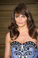 Helena Christensen arriving for the 2014 Vanity Fair Oscars Party, Los Angeles. 02/03/2014 Picture by: James McCauley/Featureflash