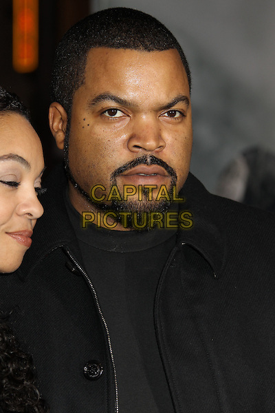 "ICE CUBE (O'Shea Jackson).""The Book Of Eli"" Los Angeles Premiere held at Grauman's Chinese Theatre, Hollywood, California, USA..January 11th, 2009.headshot portrait goatee beard facial hair black.CAP/ADM/MJ.©Michael Jade/AdMedia/Capital Pictures."